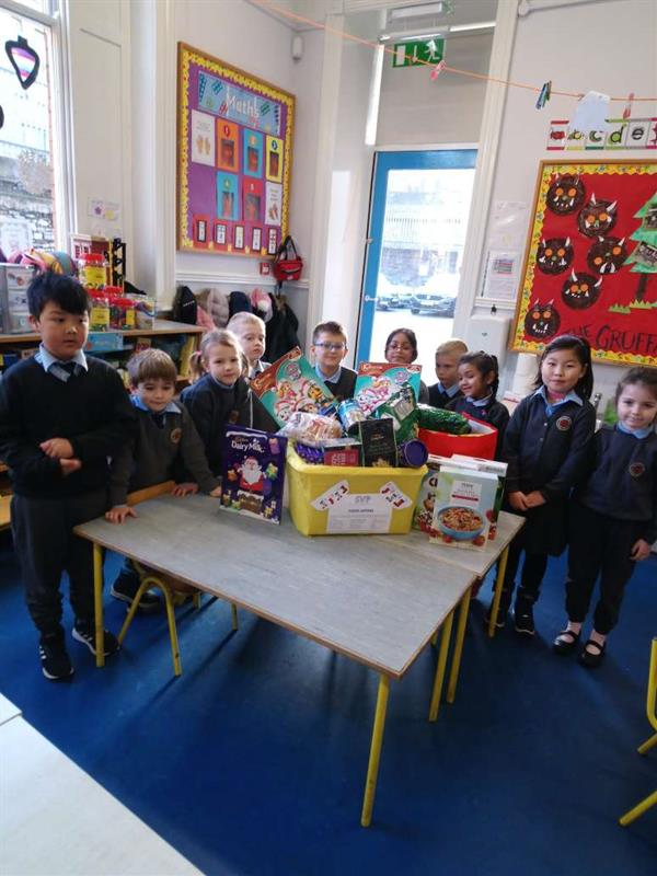 Room 2 Christmas Collection for St. Vincent De Paul