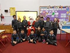 Christmas celebrations in Room 5