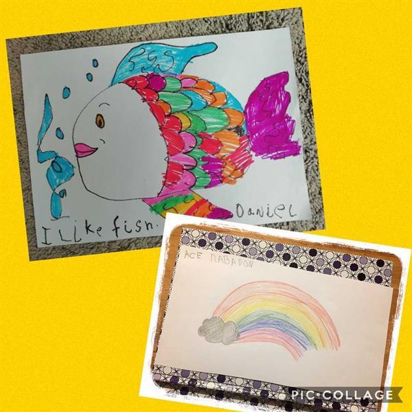 Amazing work by Junior Infants!!