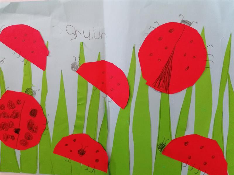 Fantastic Work by Junior Infants