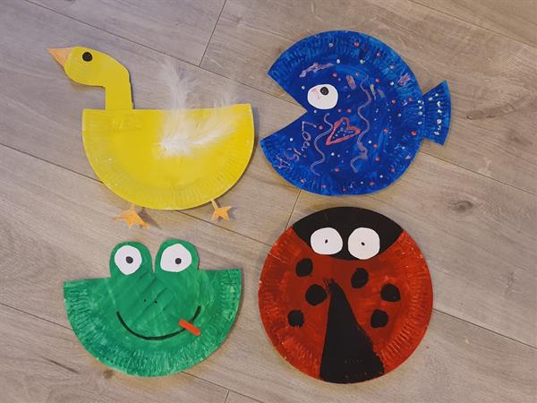 Fabulous work about Frogs by Junior Infants