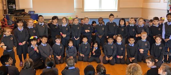 100% Attendance in the First Term back at school!