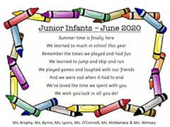Junior Infants - Highlights of 2019-2020