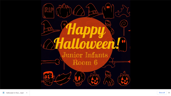 See our Halloween activities in Room 6!