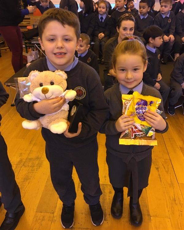 Attendance Ted Winners for January