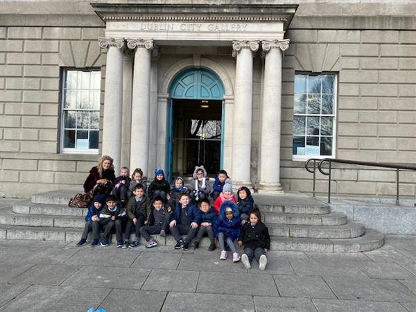 Room 1 visits Hugh Lane Art Gallery!